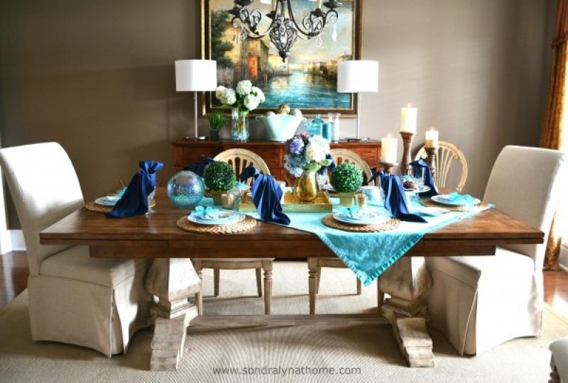 Summer Tablescape — Sondra Lyn at Home