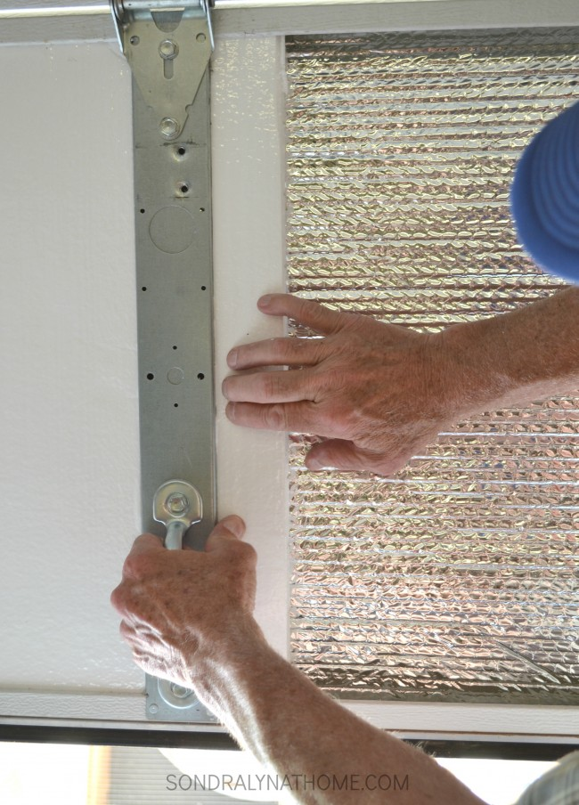 How to insulate garage doors and why you should for Foam panel house