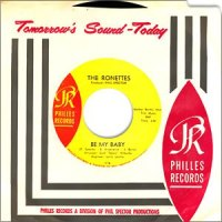 Be My Baby - The Ronettes single cover