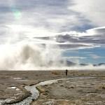 SUD LIPEZ / Bourrasque de vent sur la laguna Chalviri
