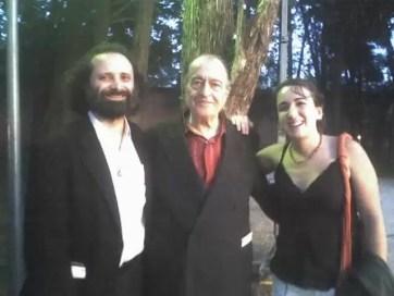 2006'VI. Con los compositores Juan María Solare y Ramón Barce
