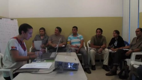 2012'VIII. El Salvador. Taller de composición