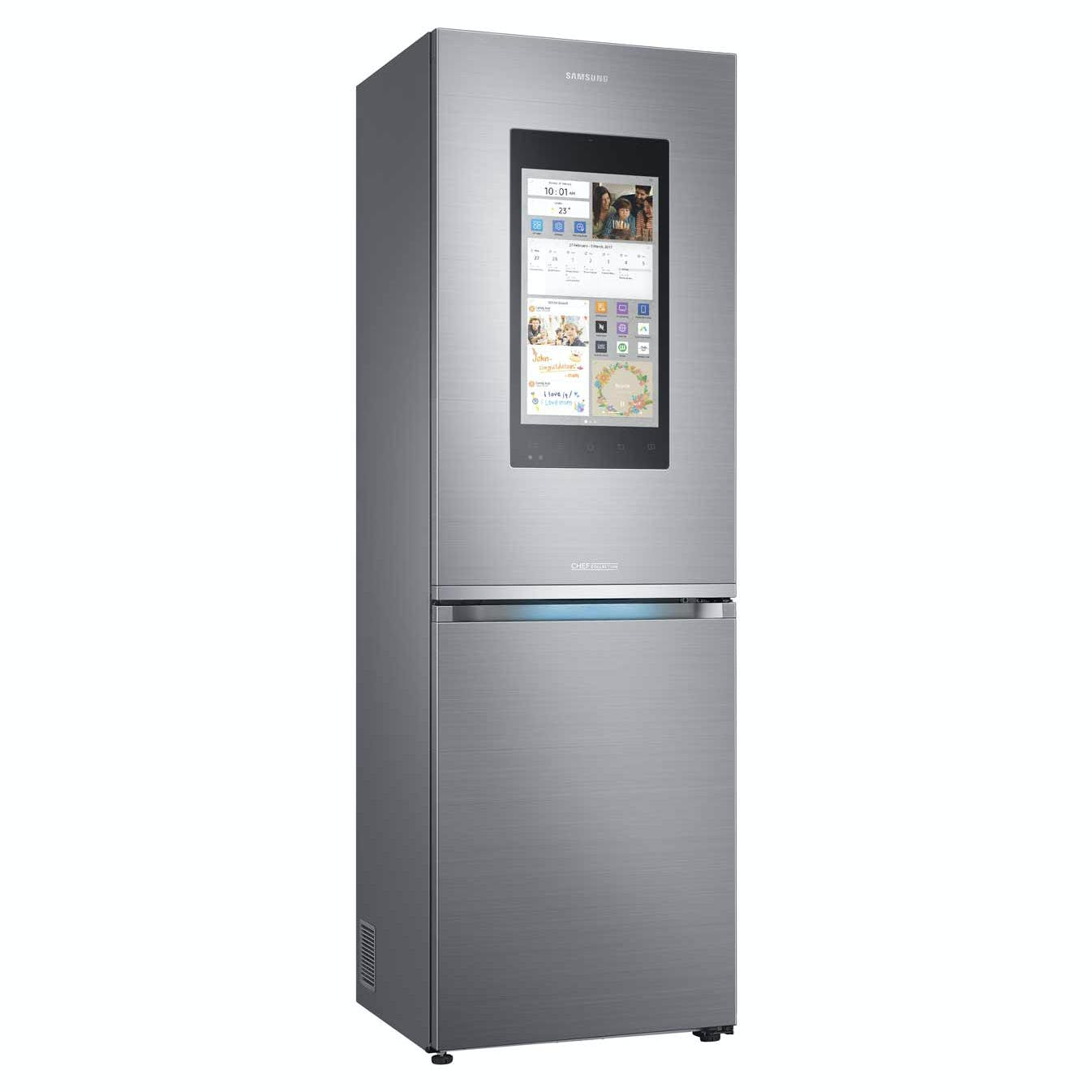 Intelligenter Kühlschrank Samsung Rb38m7998s4 Family Hub Smart Fridge Freezer In St