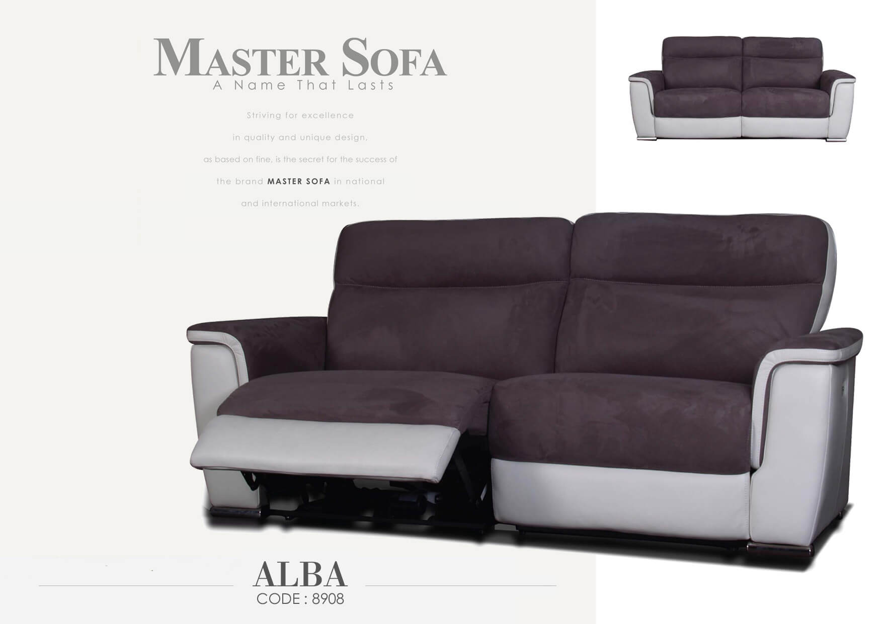 Big Sofa Maximus Maximus Alba Sonice Furniture