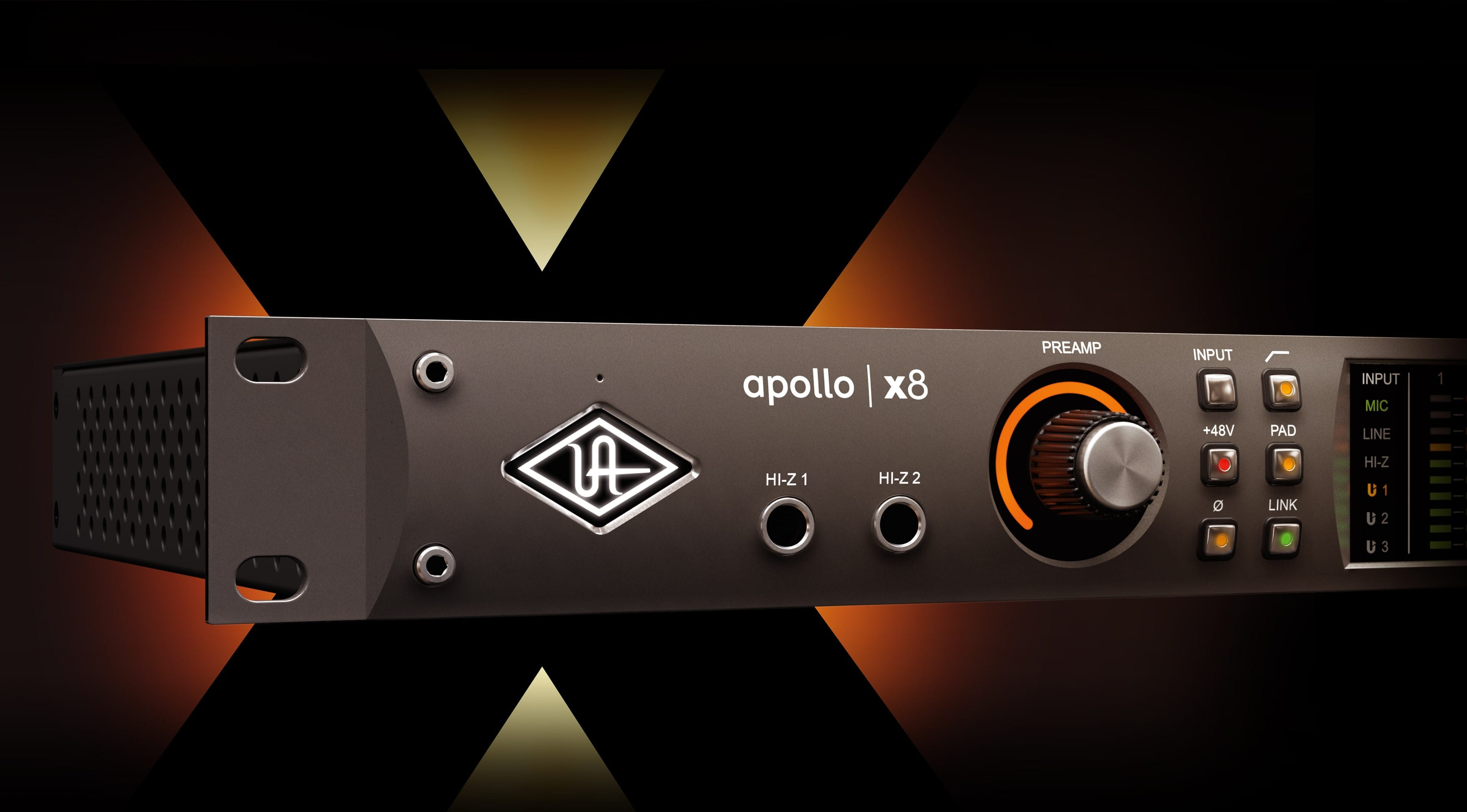 Apollo Studio New Gear Review Apollo X8 And X Series Interfaces From Universal