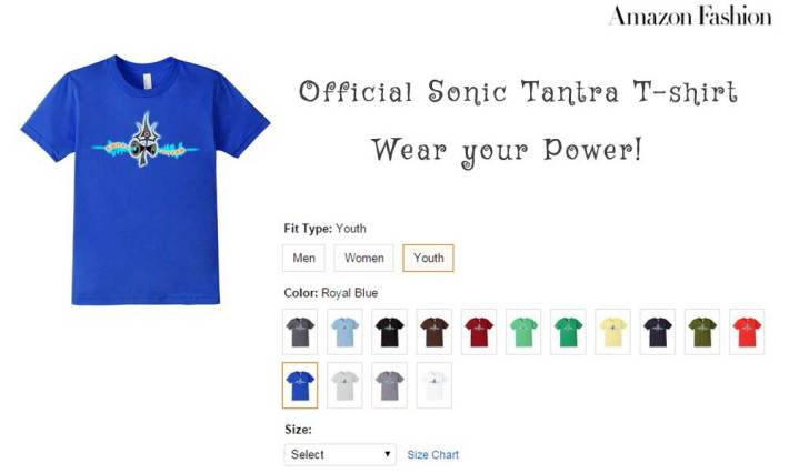 Sonic Tantra Records Official Tshirt