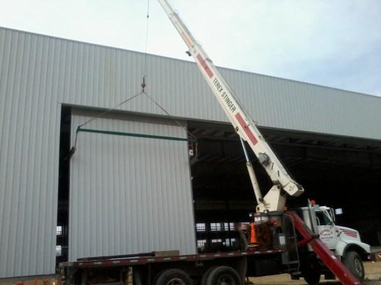 Hoisting Airport Hanger Doors