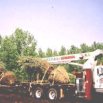 Hoisting and Hauling 7,000 Pound Trees