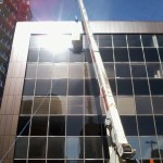 RGO Hoisting Furniture into Office Building