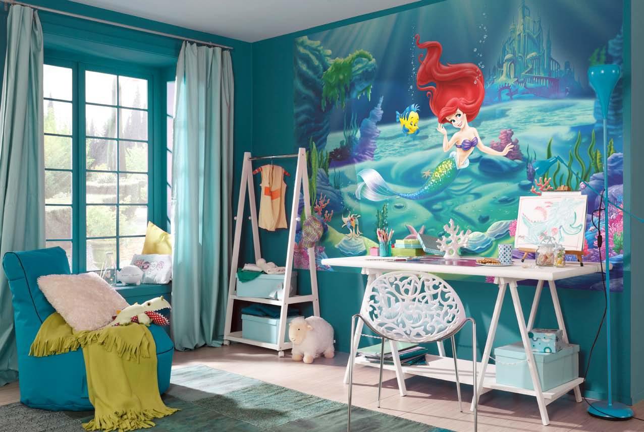 Baby Girl Nursery Wallpaper Uk Poster Mural La Petite Sir 233 Ne Panoramique Disney Komar
