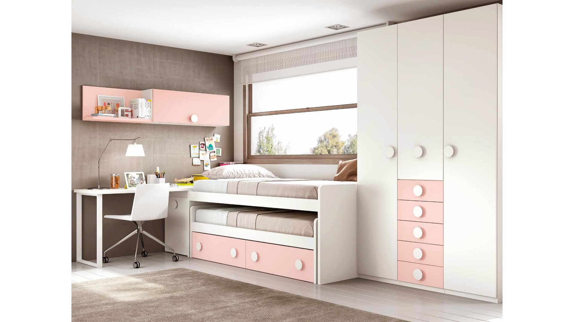 Lit Ado Fille Design Chambre Fille Ado Avec Un Lit Pratique And Fun Glicerio