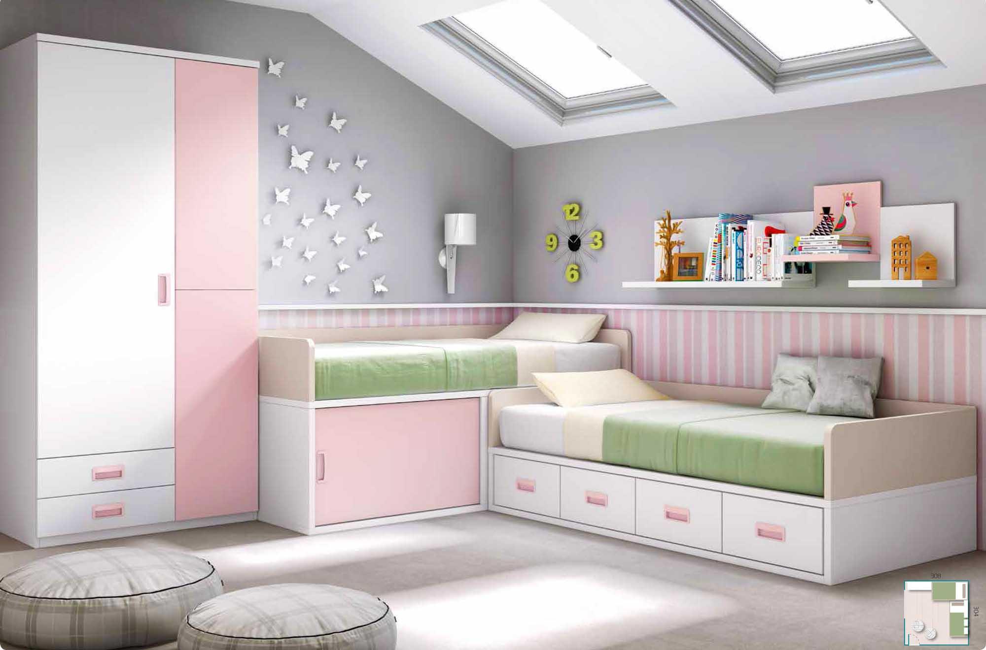 Chambre Pour Fille   Chambre Fille 6 Ans Meilleur Deco Chambre ...