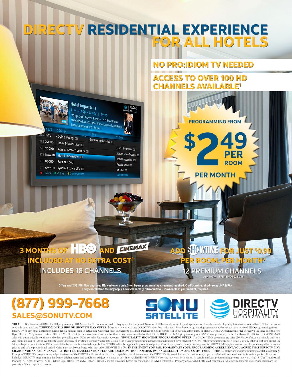 Radiant Hospitality Dre Tv Business Remote App Directv Business Logo Hospitality Business Per Room Directv Directv Business 2018 Directv inspiration Directv For Business