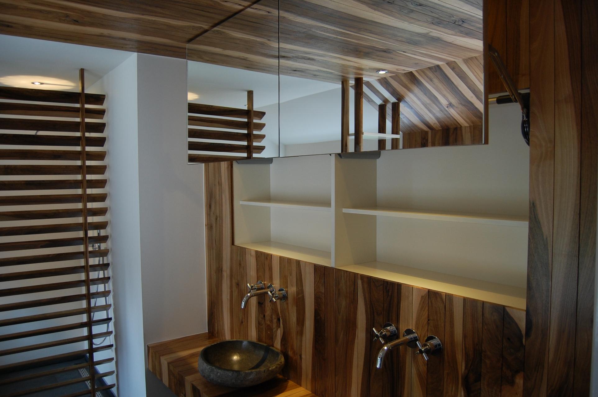 Spiegelkast Badkamer Hout : Spiegelkast badkamer hout spiegelkast sanilux wood 100x70x16cm