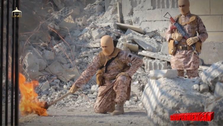 Isis burn alive 08