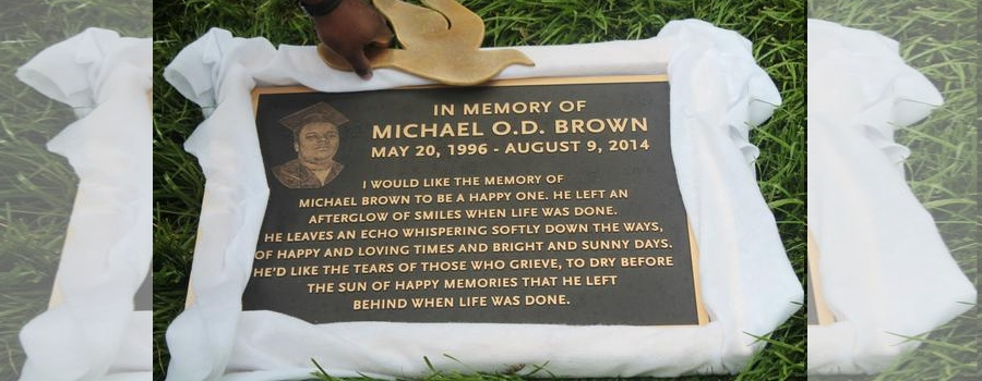mike brown plaque