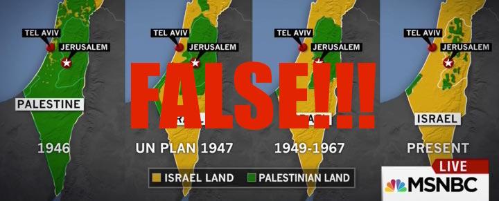 msnbc israel palestine land