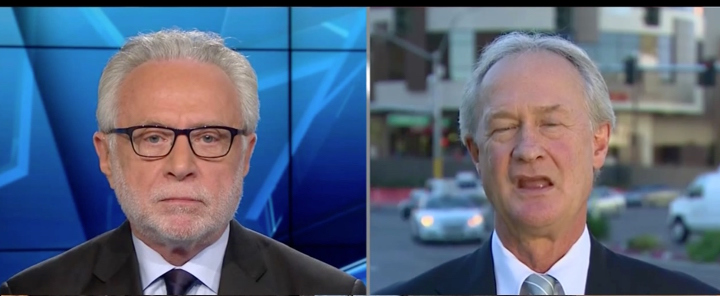 wolf blitzer lincoln chafee