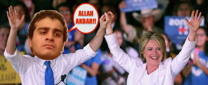 HILLARY CLINTON WITH OMAR MATTEN 01