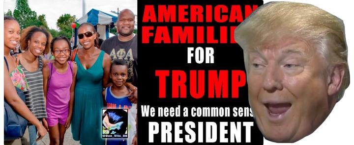 black family for trump