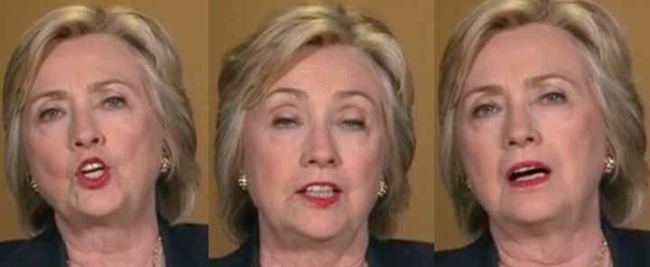 hillary clinton faces with wolf 01