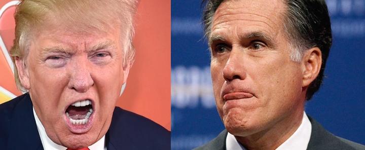 mitt romney trump donald