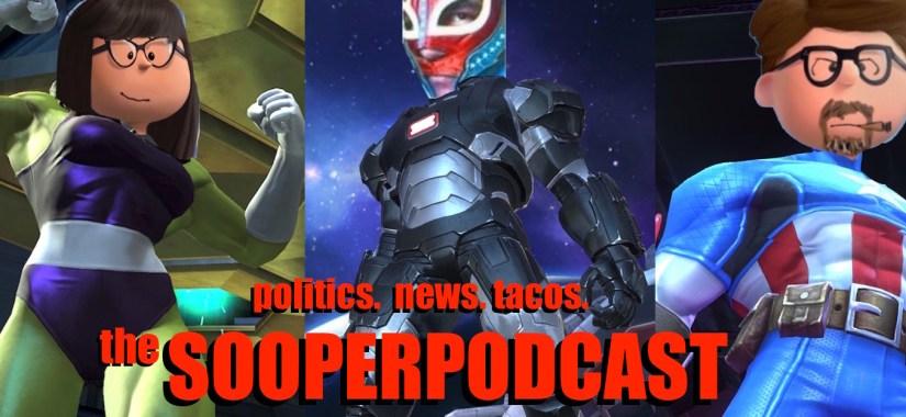 sooperpodcast superheroes  borad