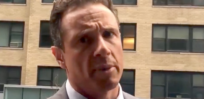 Chris Cuomo face screenshot