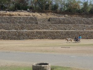 Donkey Ride around Baluarte - he pooped while we were going around