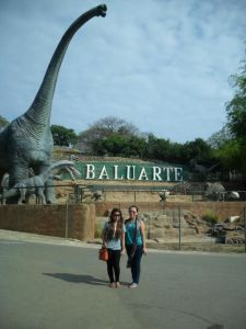 Chinee and I at Baluarte
