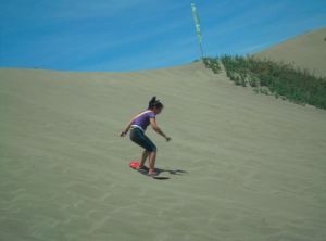 Sand surfing for beginners level 2