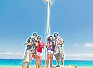 With our Mini Windmills
