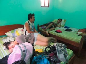 Our room - we paid P1500 for this
