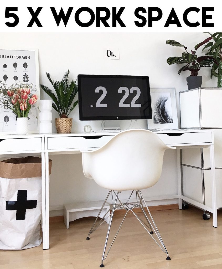 Home Office Arbeitsplatz Top 5 5 X Home Office Inspiration Sophiagaleria
