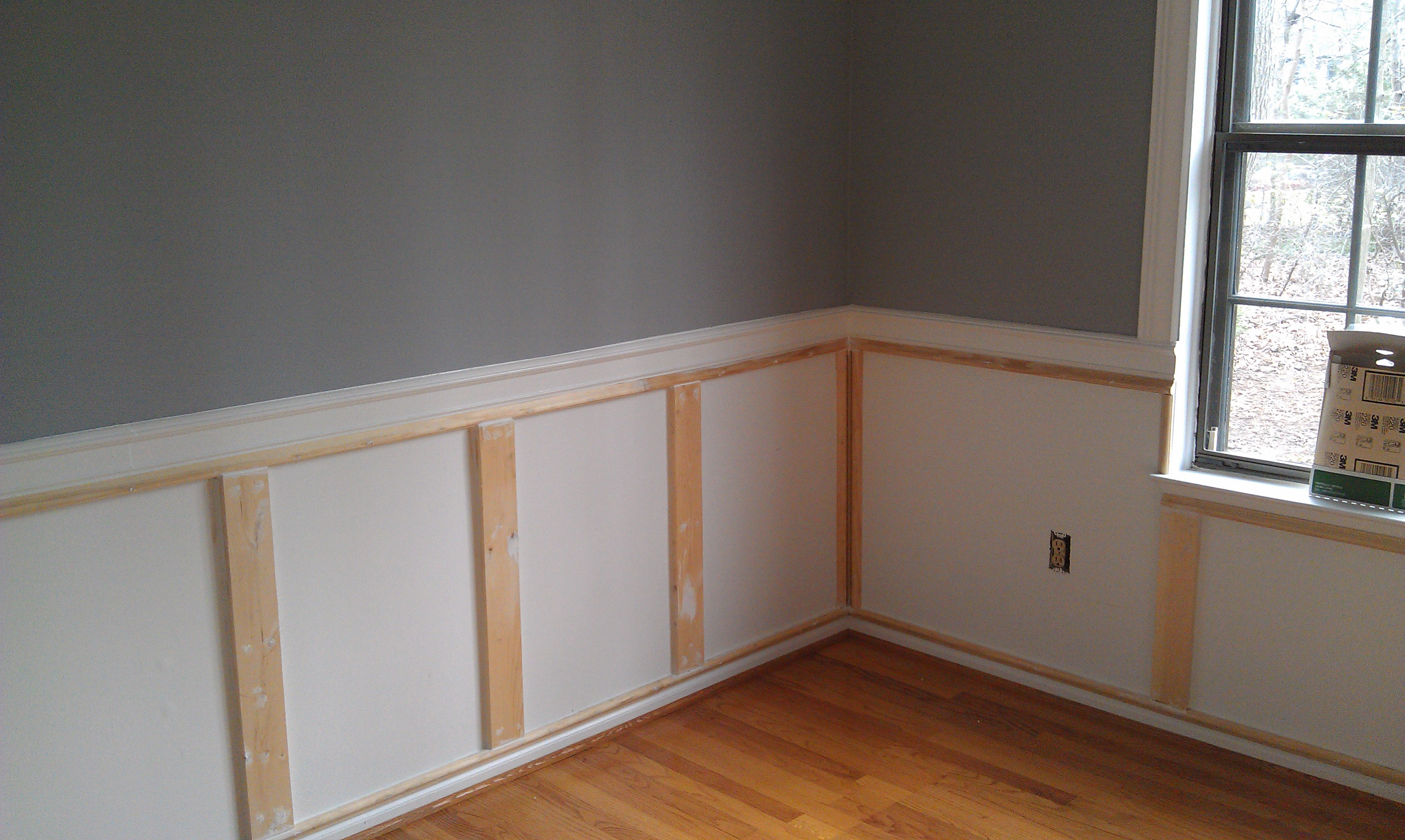 Ideas Wainscoting Planks For Dining Room Download