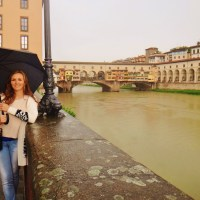 So here I am in beautiful and poetic Florence of Italy