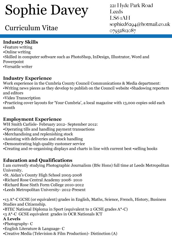 sample resume of journalist journalist resume sample resumes misc livecareer journalist resume example preview food service