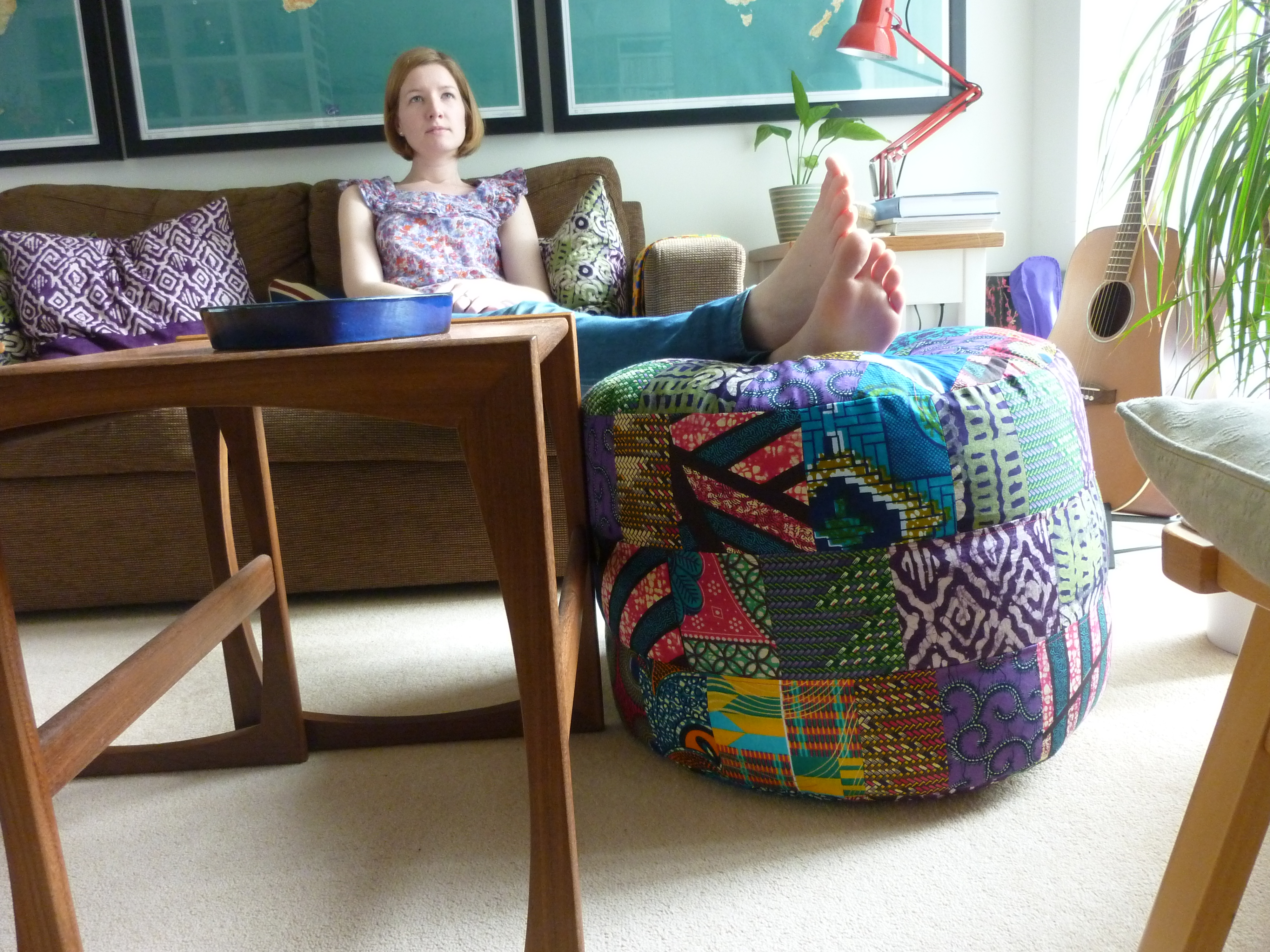 Bean Bag Footstool Patchwork Footstool Bean Bag Sophie Kingo Blogs