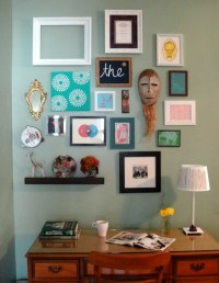 Framed Art Gallery Wall | So Pretty is as Pretty Does.