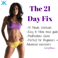 21 Day Fix - Workouts and Meals by Fitness Competitor Autumn Calabrese