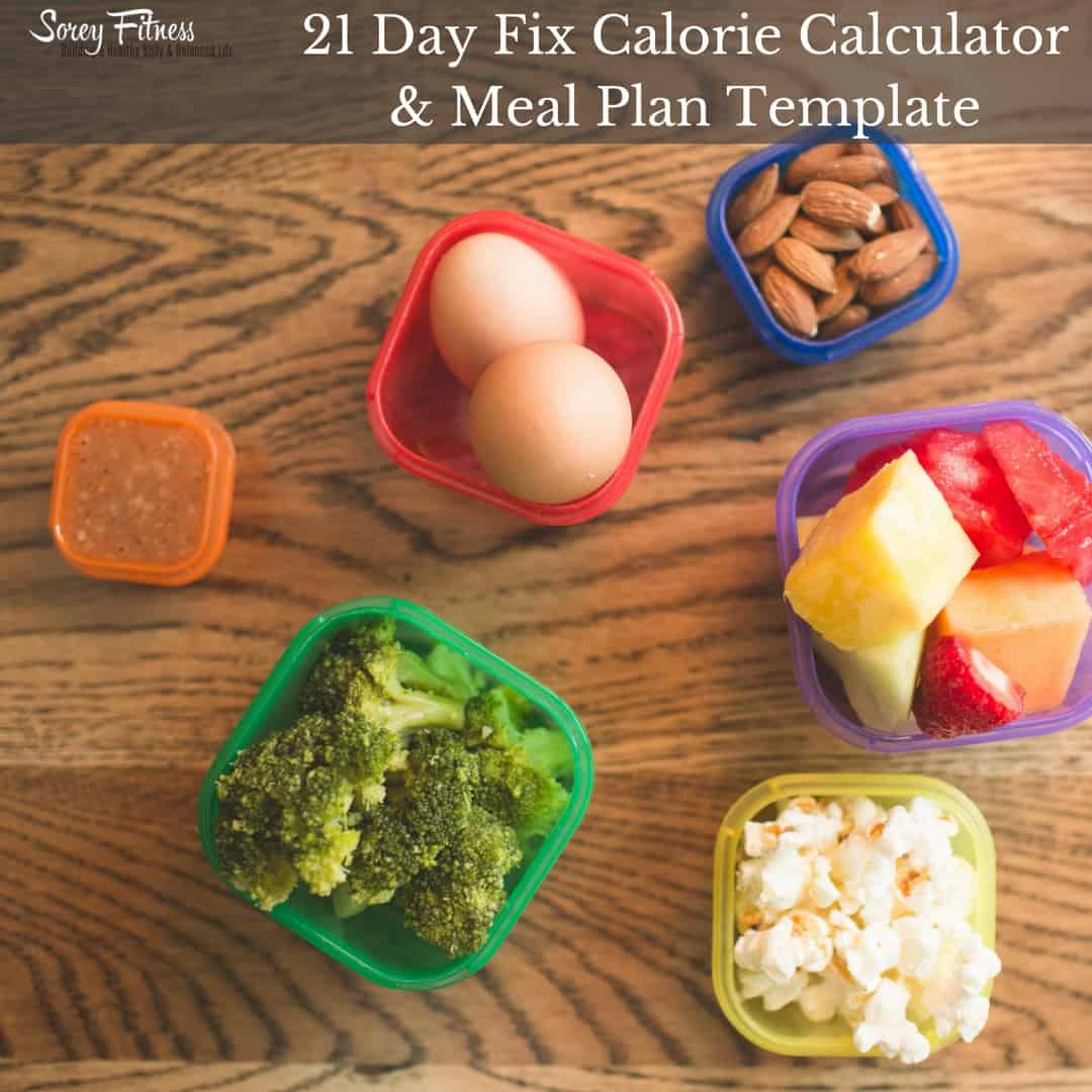 Food Recipe Calorie Calculator 21 Day Fix Calculator How To Make Meal Prep Shockingly Easy