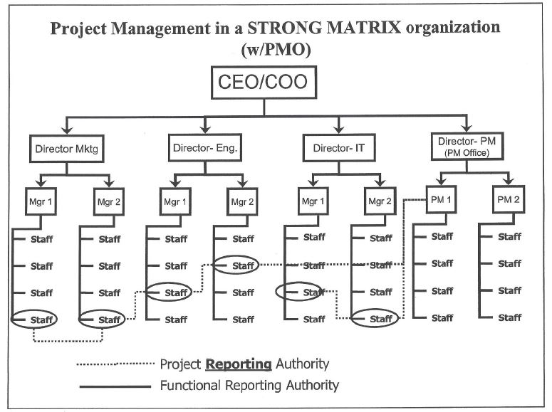 Matrix structure in construction industry Homework Academic Writing - matrix organizational structure