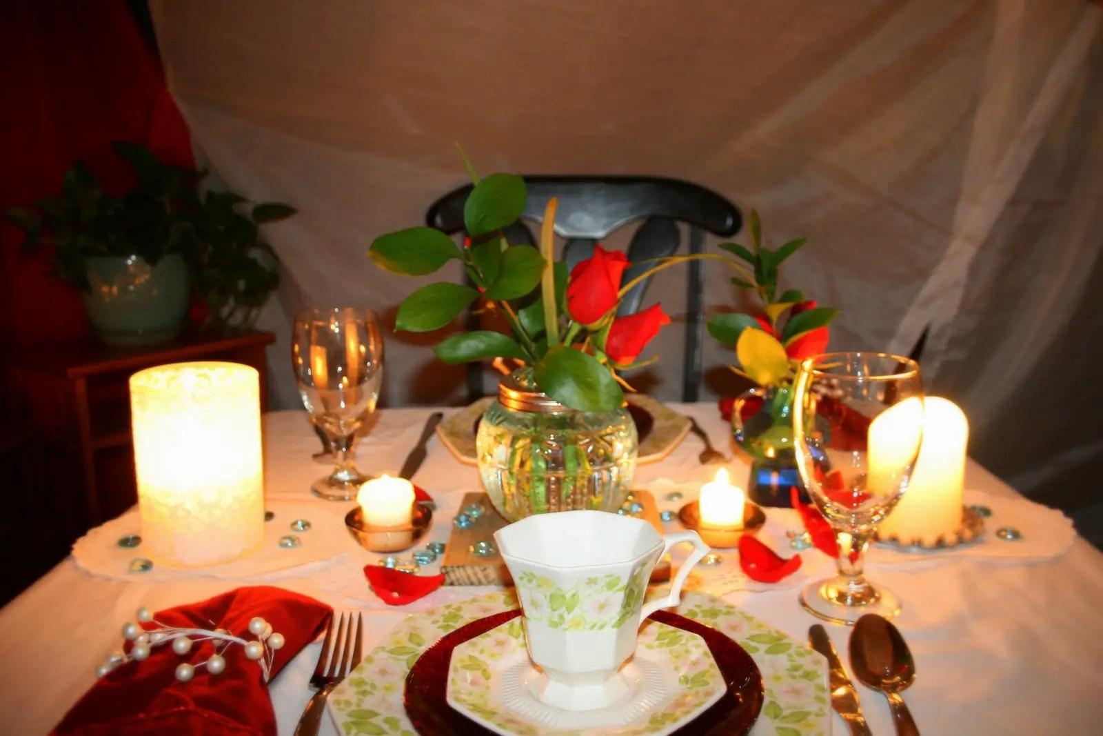Ideas para cena rom ntica sorpresas para tu pareja - Detalles para cena romantica ...