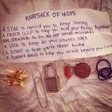 bolsa de la esperanza