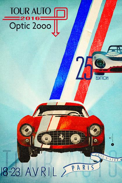 CANNES - TOUR AUTO OPTIC 2000 PARIS-CÔTE D'AZUR 2016