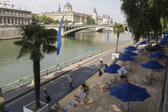 PARIS - INAUGURATION PARIS-PLAGES 2016