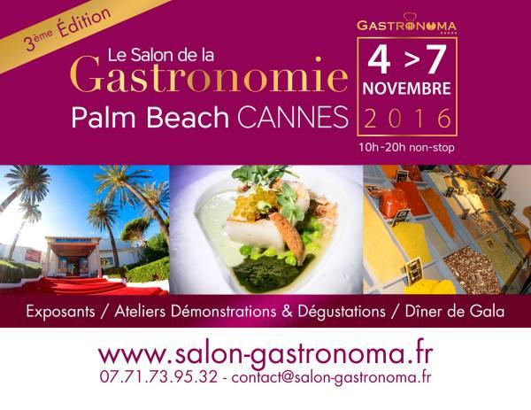 CANNES - SALON GASTRONOMA 2016