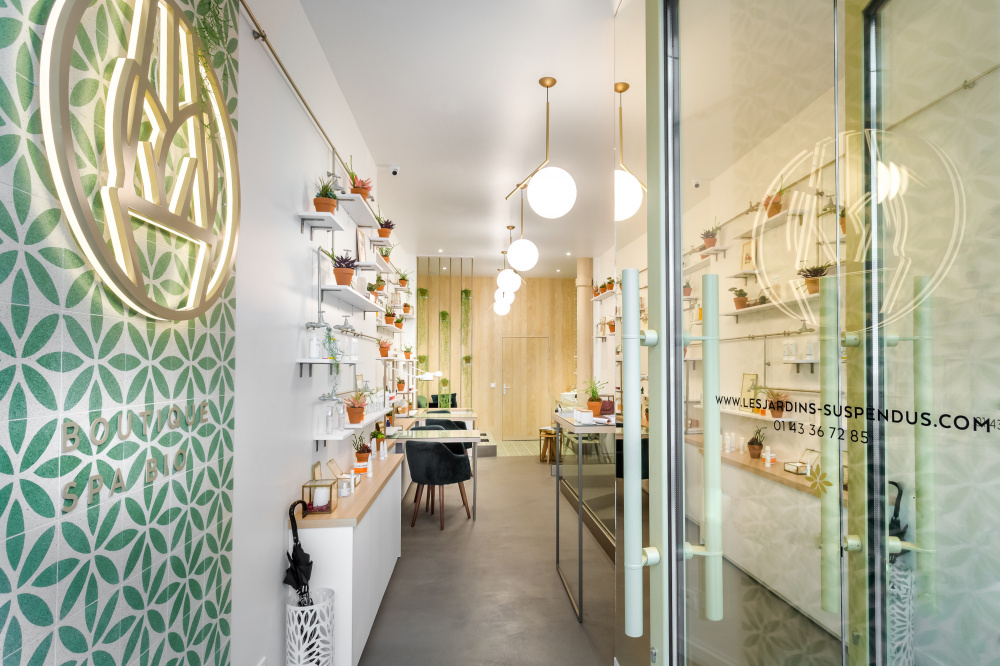 Les Jardins Suspendus The Organic Beauty Salon In Paris