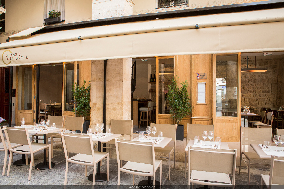 Fable De La Fontaine Restaurant Terrace A Taste Of Provence Sortiraparis Com