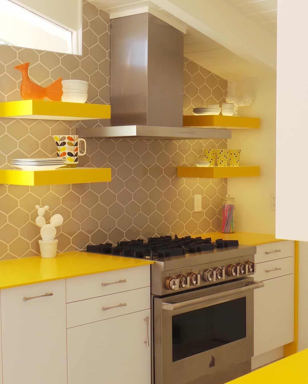 Yellow Kitchen Design Ideas 24 Glomorous Yellow Kitchen Design Ideas